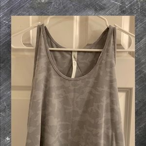 Lululemon Essential Tank Incognito Camo NWT Size 6